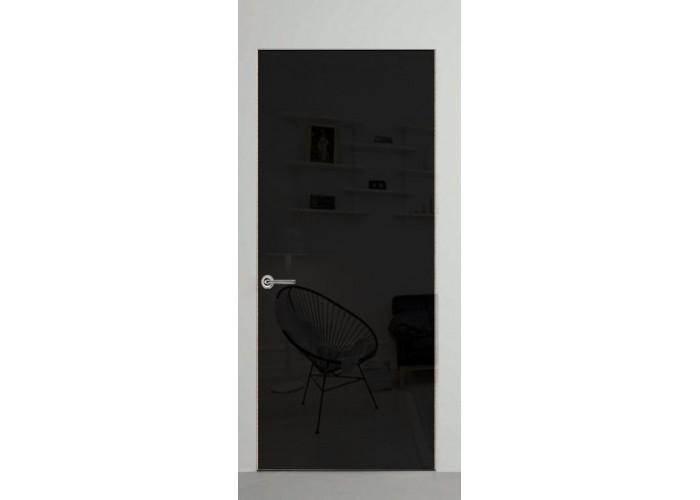 Invisible line – коллекция дверей на скрытом коробе – крашеное зеркало  1