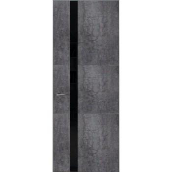 Loft L7 – покрытые каменный шпон + крашенное стекло