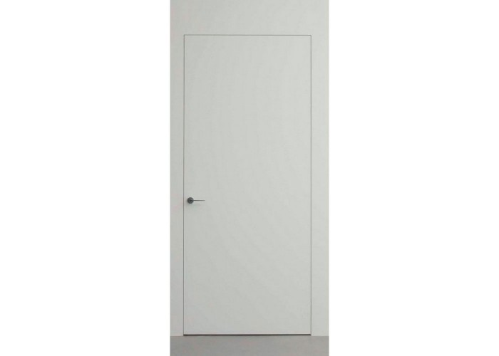 Противопожарная дверь на скрытом коробе А1 EI30 грунт без алюм. торца – под покраску  1