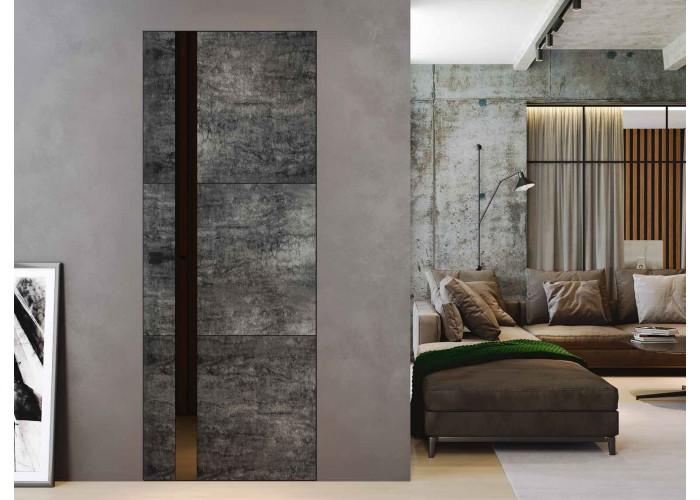 Loft L7 – покрытые каменный шпон + крашенное стекло  2