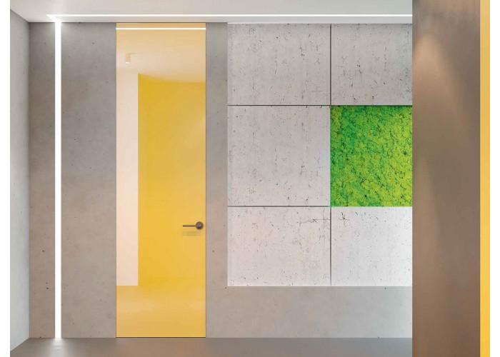Invisible line коллекция дверей на скрытом коробе – покраска по RAL  3