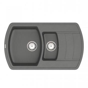 Кухонная мойка Norton NMP 04.86 Gray + сифон