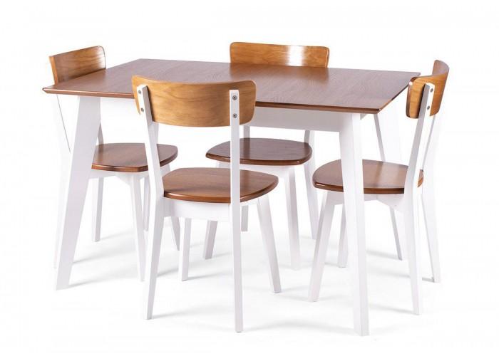 Стол Ахен + 4 стула Ельбе  1
