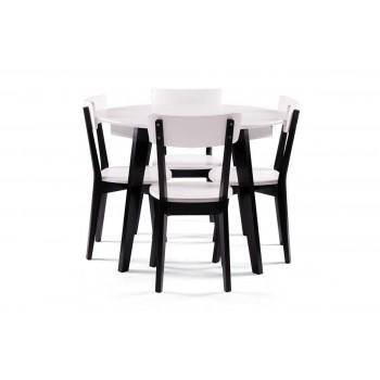 Стол Любек + 4 стула Ельбе