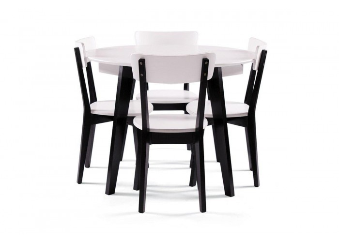 Стол Любек + 4 стула Ельбе  1
