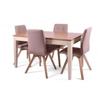 Стол Боруссия + 4 стула Бодо