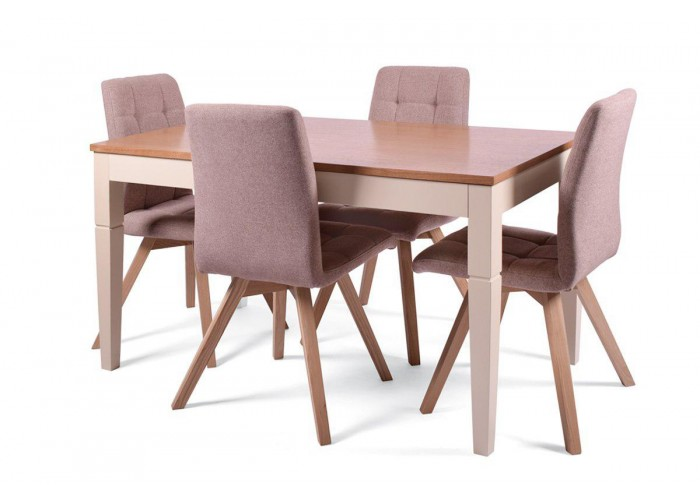 Стол Боруссия + 4 стула Бодо  1
