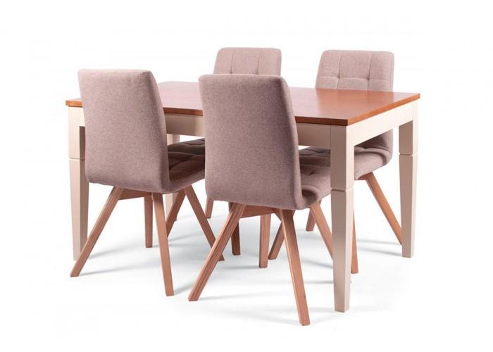 Стол Боруссия + 4 стула Бодо  2