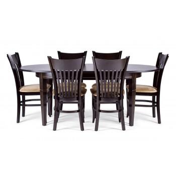 Стол Дортмунд + 6 стульев Галле