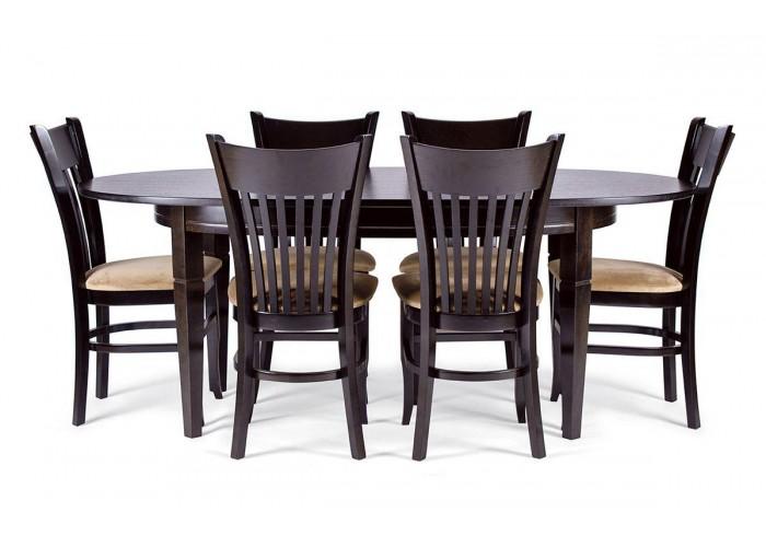 Стол Дортмунд + 6 стульев Галле  1