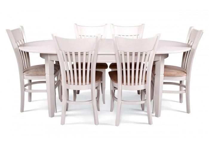 Стол Дортмунд + 6 стульев Галле  2