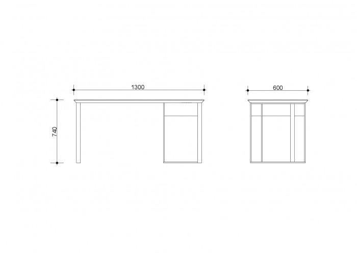 Стол Ink Desk  3