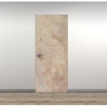 Двери скрытого монтажа Secret Doors ™ – скрытый алюминиевый короб – каменный шпон