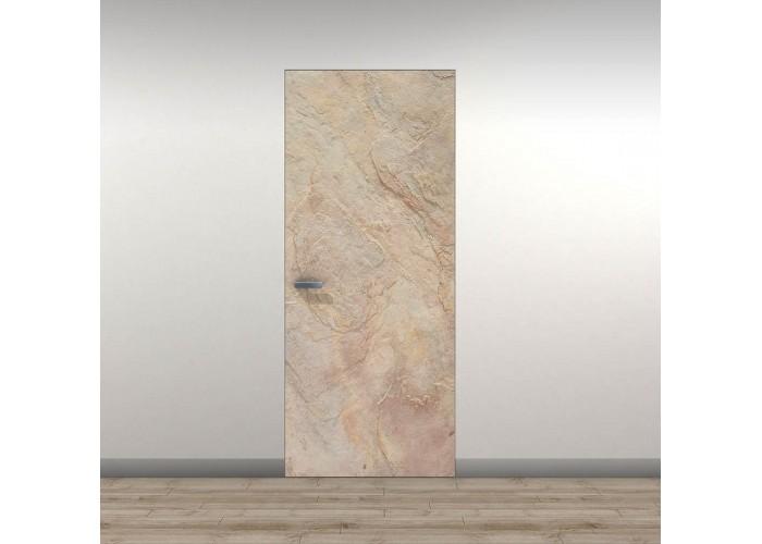 Secret Doors ™ – скрытый алюминиевый короб – каменный шпон  1