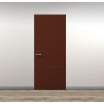 Двери скрытого монтажа Secret Doors Invisible – скрытая установка короба – отделка кожа