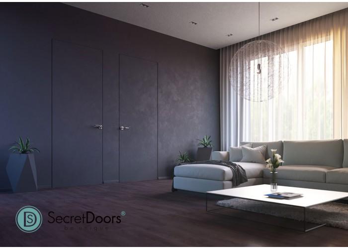 Скрытые двери – Secret Doors – щитовое полотно – грунтованное, под дальнейшую отделку  3