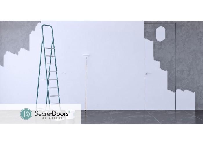Скрытые двери – Secret Doors – щитовое полотно – грунтованное, под дальнейшую отделку  2
