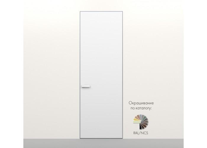 Secret Doors – установка дверей скрытого монтажа – покраска эмаль RAL  7
