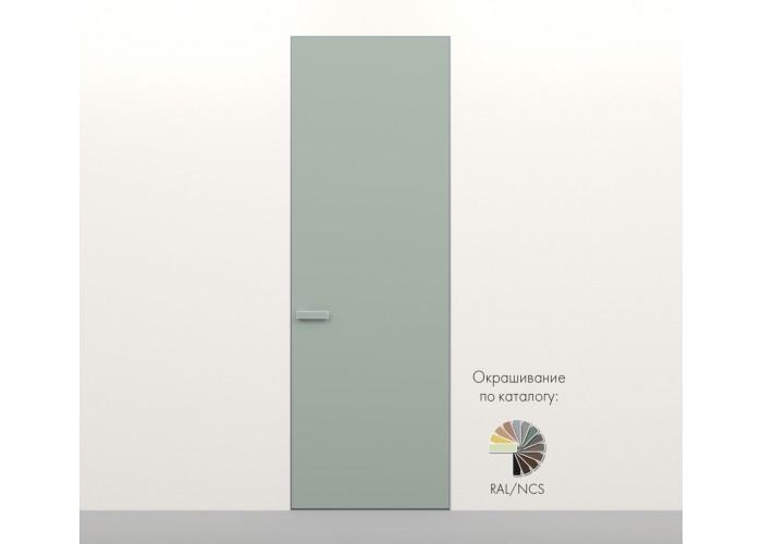 Secret Doors – установка дверей скрытого монтажа – покраска эмаль RAL  8