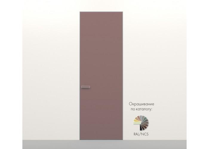 Secret Doors – установка дверей скрытого монтажа – покраска эмаль RAL  3