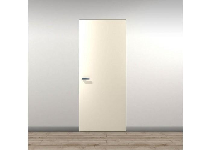 Secret Doors – установка дверей скрытого монтажа – покраска эмаль RAL  1