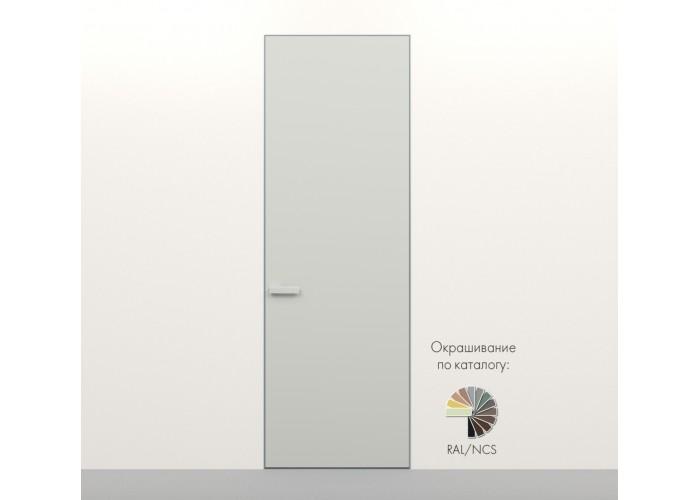 Secret Doors – установка дверей скрытого монтажа – покраска эмаль RAL  6