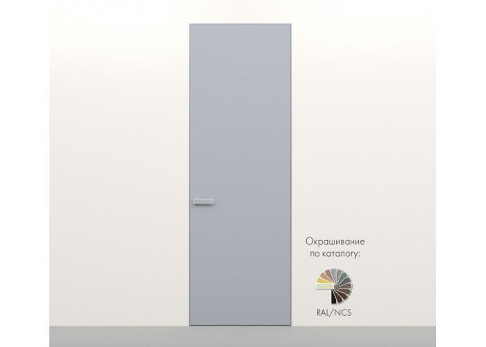 Secret Doors – установка дверей скрытого монтажа – покраска эмаль RAL  4
