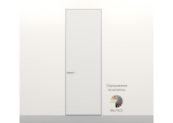 Secret Doors – установка дверей скрытого монтажа – покраска эмаль RAL  10
