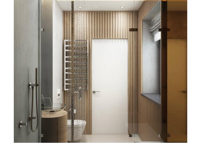 Secret Doors – установка дверей скрытого монтажа – покраска эмаль RAL  2