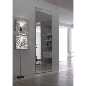 Двери скрытого монтажа Secret Doors алюминиевый короб – зеркалом
