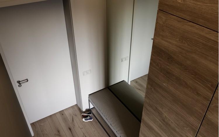 Прихожая — ЖК Французский Квартал — квартира 82 м.кв — студия дизайна Art Partner