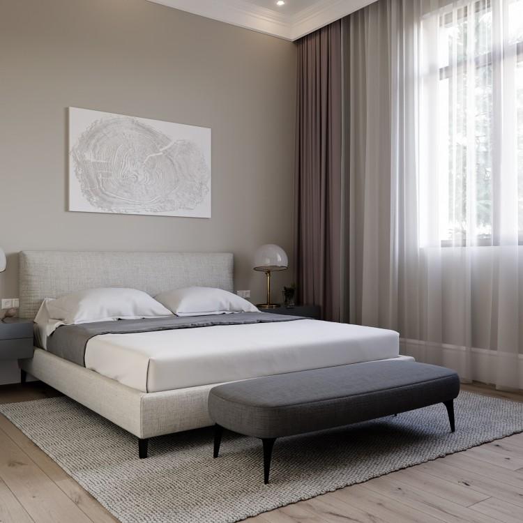 Спальня — ЖК Итальянский Квартал — дом 108 м.кв — студия дизайна Art Partner