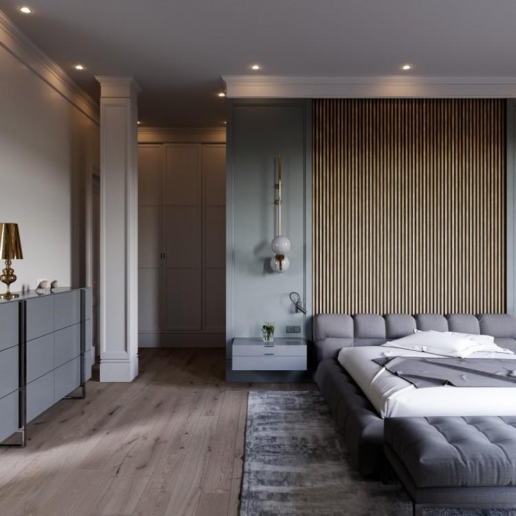 Спальня — ЖК Итальянский Квартал — дом 108 м.кв — Art Partner