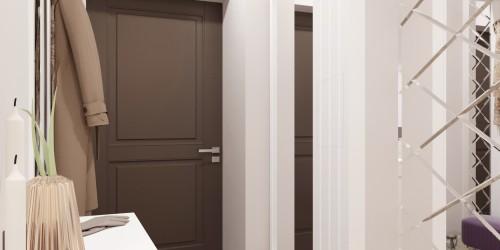 Дизайн-проект 3-комнатной квартиры ЖК Аметист - 84м.кв.