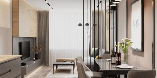 Дизайн 2-комнатной квартиры в ЖК Город Цветов