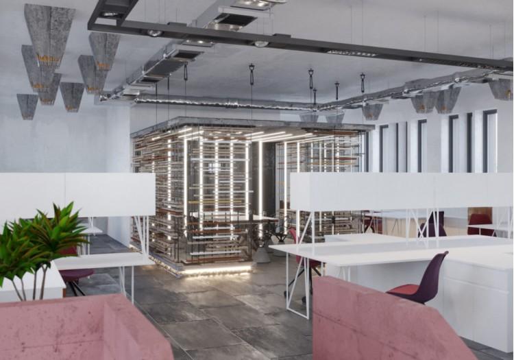 Дизайн-проект офиса— Che*Modan
