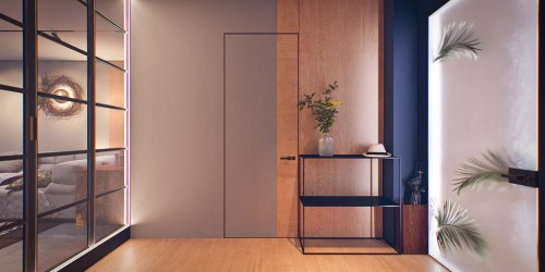 Дизайн-проект квартиры на 25 этаже с террасой