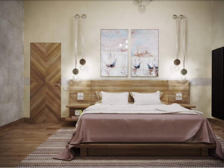 Спальня   – качественное фото интерьера № 1279