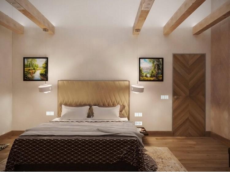 Спальня – отличное фото дизайн-проекта № 1282