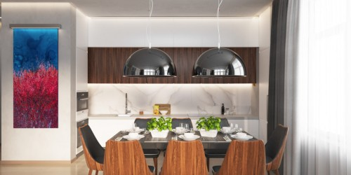 Дизайн-проект квартиры на Липках