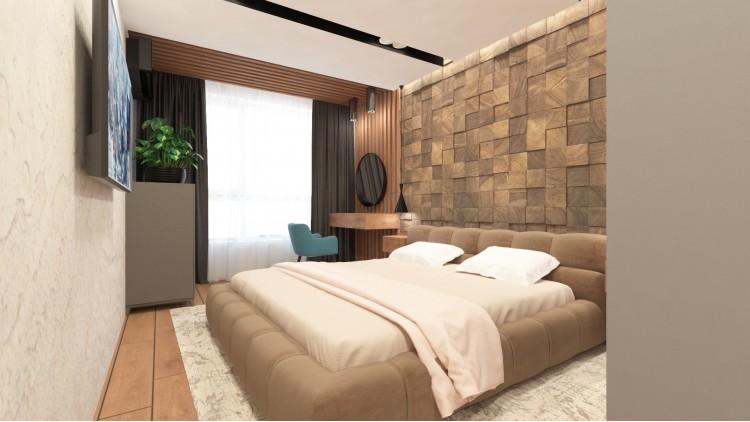 Спальня  – фото интерьера № 443