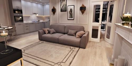 Дизайн-проект  1-комнатной квартиры в ЖК Манхеттен , 52 м.кв