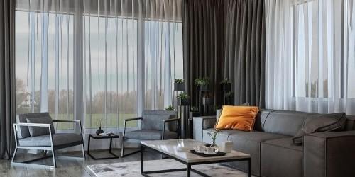 Дизайн-проект частного дома в стиле лофт, 200 м.кв