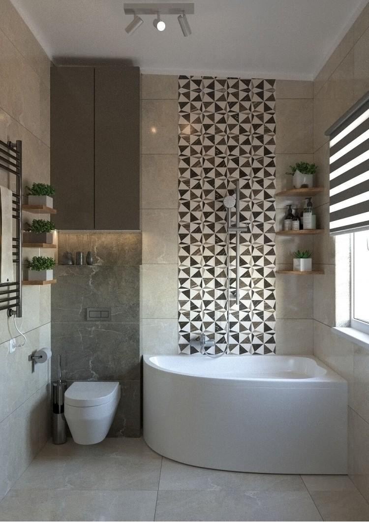 Санузел — Дизайн-проект частного дома в стиле лофт, 200 м. кв — студия дизайна Inerior12
