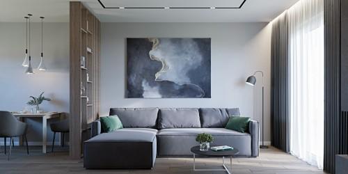 Дизайн-проект коттеджа в КГ Зеленый Бульвар, 98 м.кв