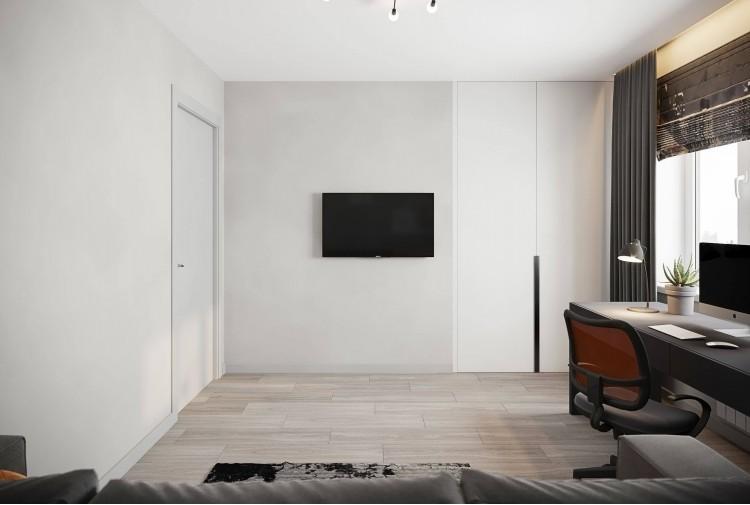 Детская-1 — Дизайн-проект 3-комнатной квартиры в ЖК Статус Групп, 106 м.кв — студия дизайна Inerior12