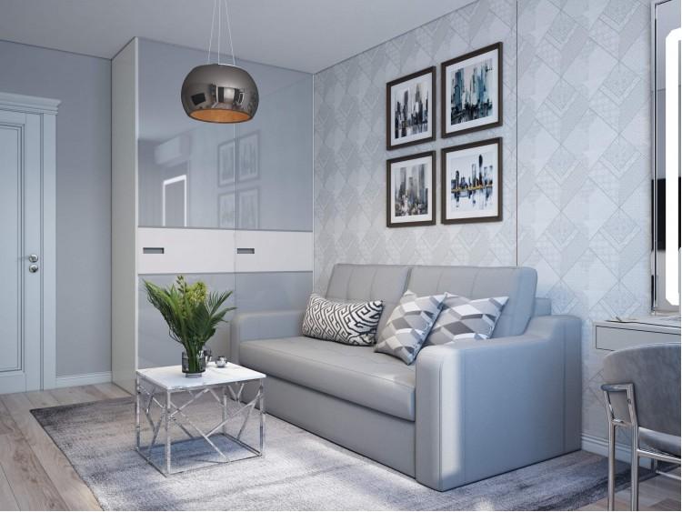 Детская в дизайн-проекте квартиры  ЖК Viktori, 86 м.кв. — NS Interior Design