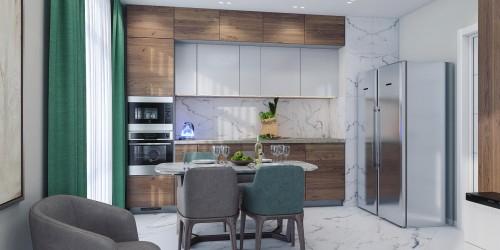 Дизайн-проект квартиры в ЖК Адамант, 86 м.кв.