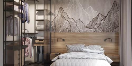 Дизайн-проект  квартиры в ЖК Файна Таун, 45м.кв.