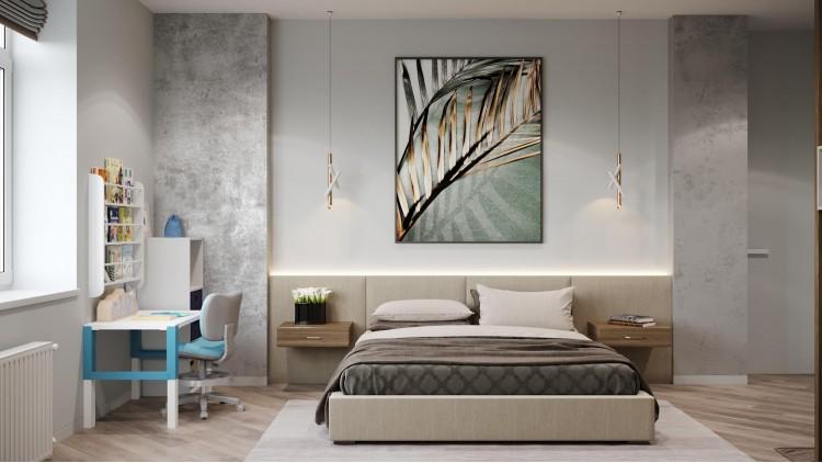 Спальня    – фото интерьера № 1089